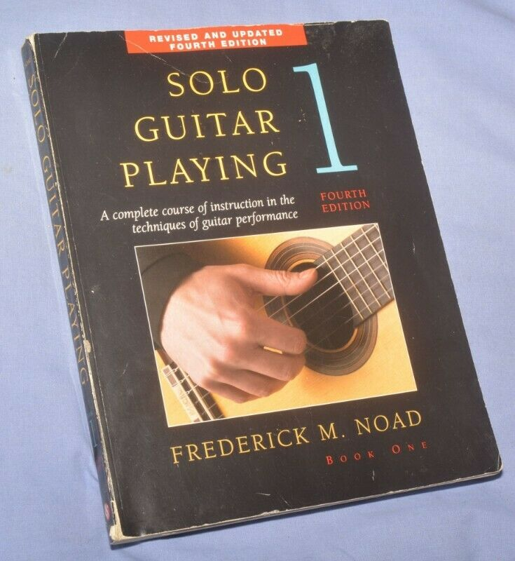 Classical guitar instruction book
