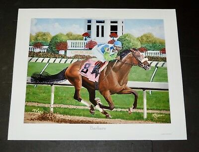 Barbaro Limited Edition Print Horse Racing Churchill Downs Kentucky Derby