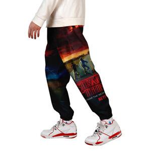 Mens-3D-Print-Color-Block-Cargo-Pants-Joggers-Pants-Trousers-010-S