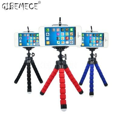Acecor Flexible Octopus Phone Holder Tripod Bracket Camera Stand with Phone Clip Stands