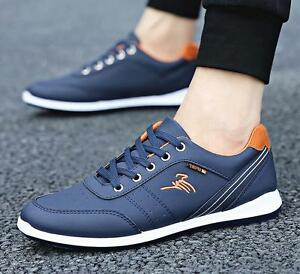 New Men's sport shoes Casual shoes Sneakers Athletic Breathable Flats Running
