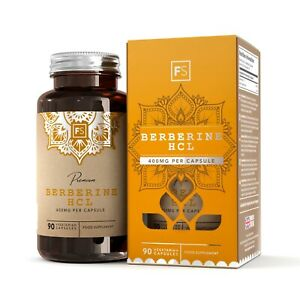 Berberine-HCL-400mg-90-Capsule-Anti-inflammatoire-Perte-de-Poids-Berberis