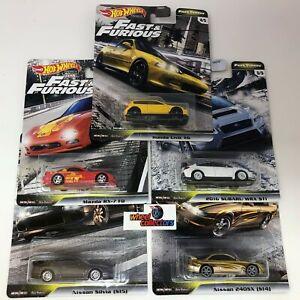 5-Car-Set-2020-Hot-Wheels-Fast-amp-Furious-Fast-Tuners-Case-F-w-Civic-EG
