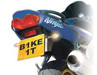 BIKE IT Mini Cat Eye Indicators Motorcycle Black Amber Indicators INDUCEBLKE