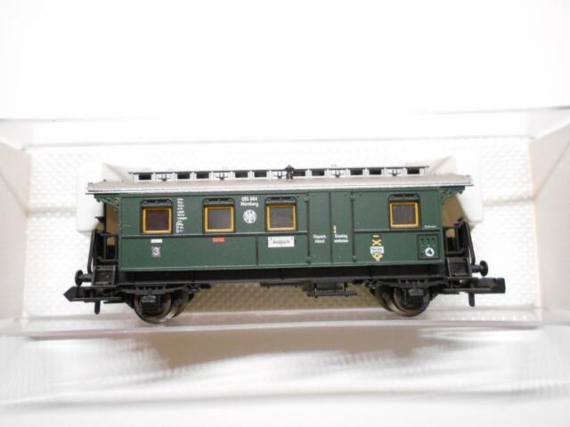 FLM PICCOLO 8065 Personenwagen DRG 3.Kl mit Gepäckabteil OVP (43387)