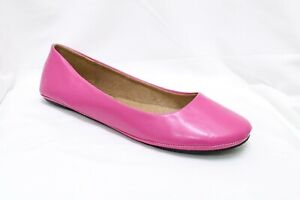 Womens-Ballet-Flat-Comfort-Classic-Slip-On-Ballerina-Shoes-Hot-Pink-Size-12-NEW