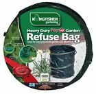 Kingfisher Heavy Duty Pop up Collapsible Garden Refuse Waste Rubbish Bag Bin 73l