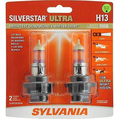 Sylvania Silverstar Ultra H13SU/2 Headlight Bulbs - Pair