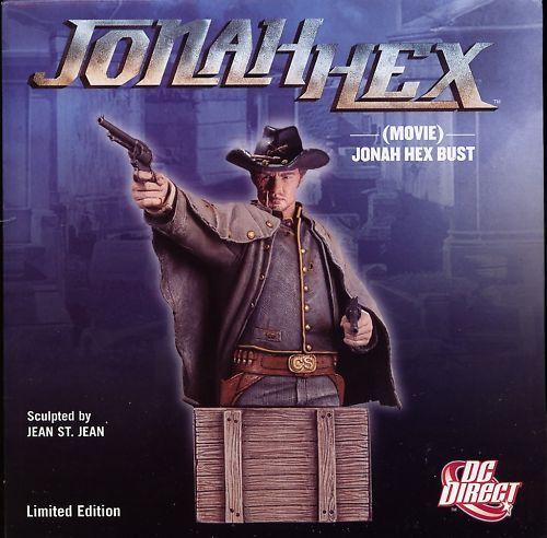 JONAH HEX MOVIE JONAH HEX BUST MINT DC Direct