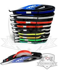 Motorcycle Reflective Rim Wheel Tape With EZ Applicator Stripes Strips Decals FX