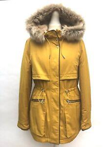 Mustard Parka Coat