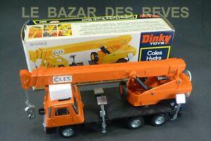 DINKY-TOYS-GB-Grue-COLES-REF-980-Boite-orange