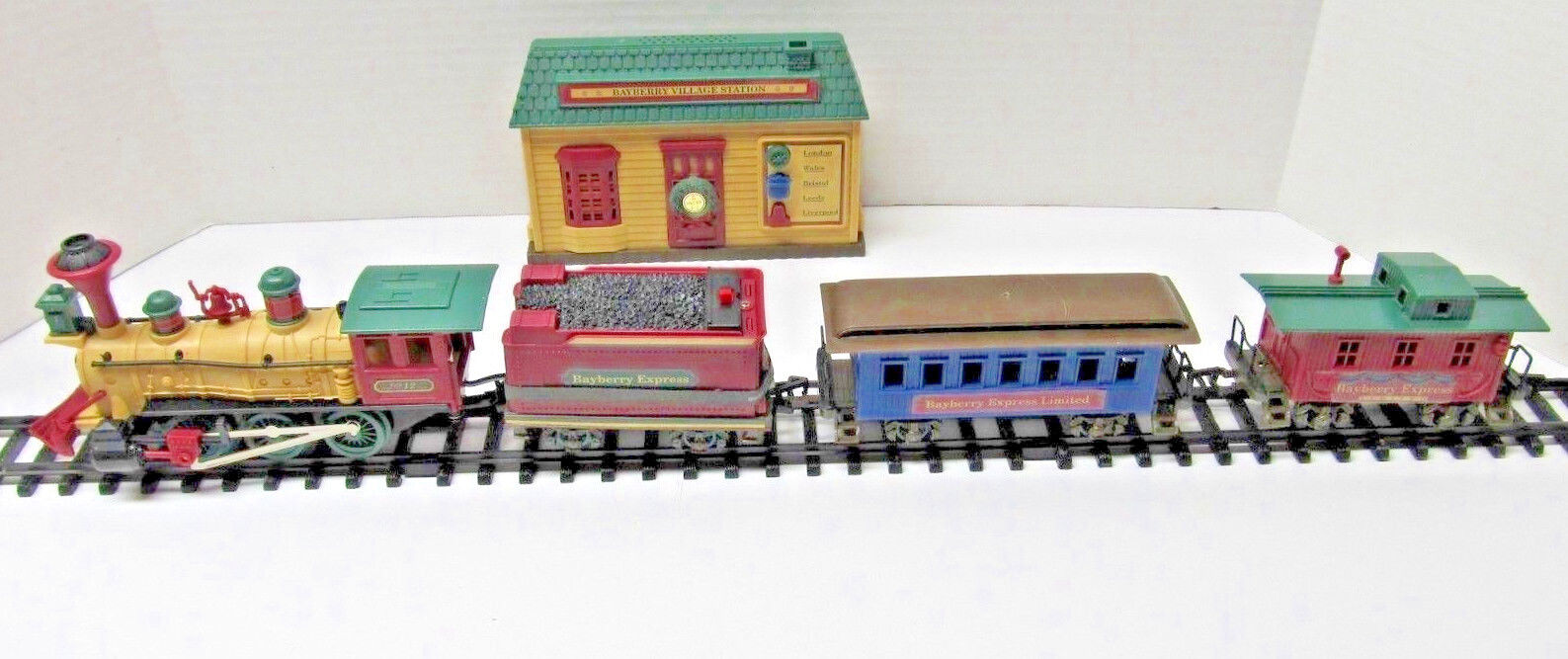 1997's Christmas Set - HO Gauge - Bayberry Express Limited - working item (438)