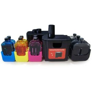 NON-OEM-Black-Tri-Color-DIY-Cartridge-Mate-System-for-HP-61-Cartridge-Refill