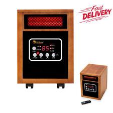 1500-watt Portable Electric Space Heater Energy Efficient w// Remote Control