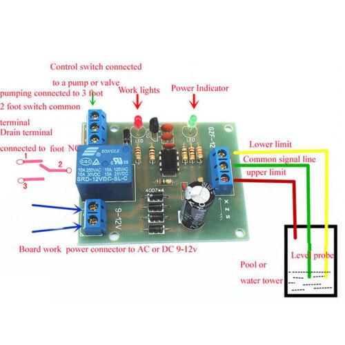 Füllstandsregler Sensormodul Wasserstandsdetektionssensor Komponente SQ