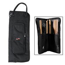 Drumstick Bag Nylon Black Mallet Drum Stick Storage Shoulder Case Bag Pouch