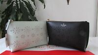 Kate Spade Leather Hilarie Faye Drive Pouch Black Or Mintsplash