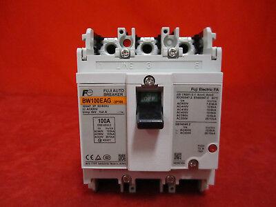 BU3EHC-100L Fuji Circuit Breaker 100 Amp 100A 600VAC 3P NEW