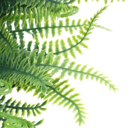 7 Branches Artificial Boston Fern Bouquet Plastic Artificial Plants Home DecorBB