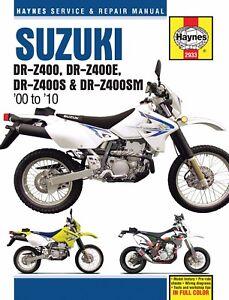 2000-2010 Suzuki DR-Z DRZ 400 DRZ400 DRZ400E DRZ400S HAYNES REPAIR MANUAL 2933