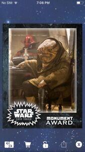 Topps-Star-Wars-Digital-Card-Trader-Quiggold-Monument-Insert-Award