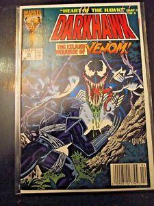 Darkhawk-14-Heart-of-the-Hawk-part-5-Venom-appears-Newsstand-edition-FN-VF