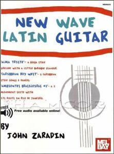 Mel Bay New Wave Latin Guitar Tab & Musique Livre Audio/mÊme Jour ExpÉdition-afficher Le Titre D'origine