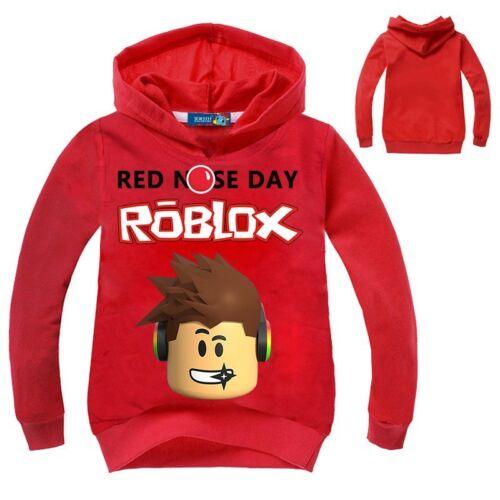 Fashion Roblox T Shirt Boys Hoodies Girls Sweatshirt Boys for Children Gift
