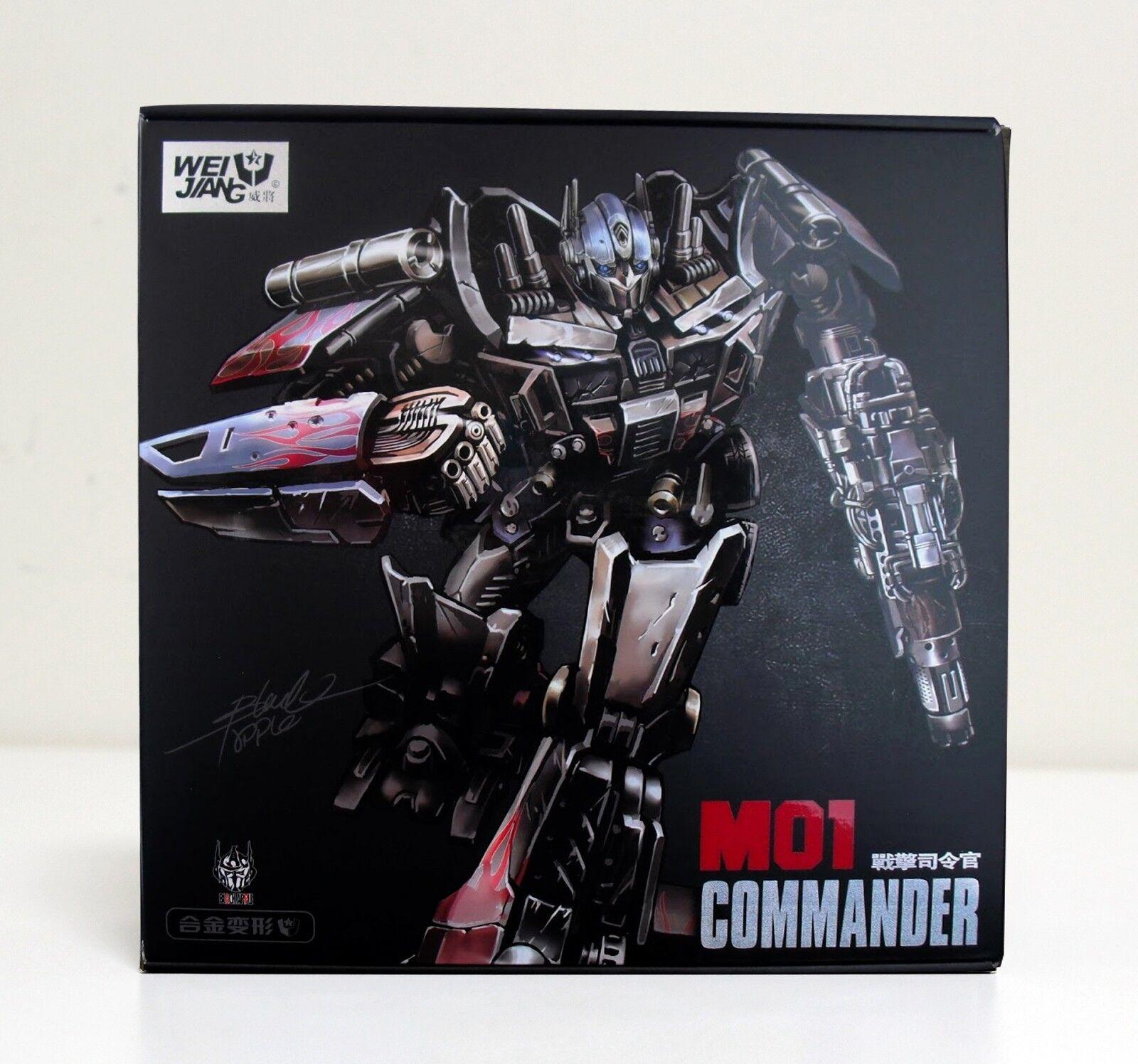 WEI JIANG WEIJIANG M01 M-01 Commander Transformers OP NEW