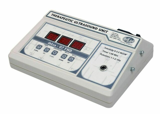 Portable Ultrasound Therapy 1Mhz 07 FND Digital stress Relief Machine