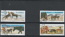 Namibia 2009 CTO Wild Horses SG#1124a-7 4v Stallions Horse Bay Used Additional