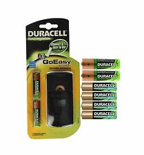 Duracell GoEasy Charger with 4 AA and 4 AAA Rechargeable Batteries