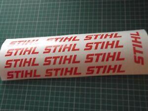 STIHL LOGO style  STICKERS  CHAINSAW VAN  WORKSHOP Tree Surgery 13