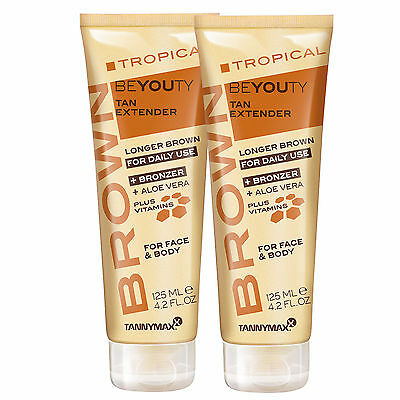 "2x Tannymaxx Brown ""Tropical Beyouty"" je 125 ml After Sun"