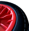 "14/"" PUNCTURE PROOF SOLID WHEELBARROW CART TROLLEY WHEEL 3.50-8 12MM BEARINGS"