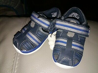 Baby Shoe Sandle Navy Summer Asda