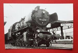 DDR-Foto-Eisenbahn-DR-Dampflok-BR-50-1432-9-ZWICKAU-Hbf-22920