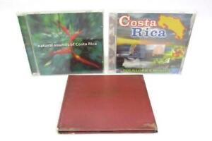 Lot-of-3-Costa-Rica-CDs-Historias-De-Nadie-Natural-Sounds-Folklore-y-Musica
