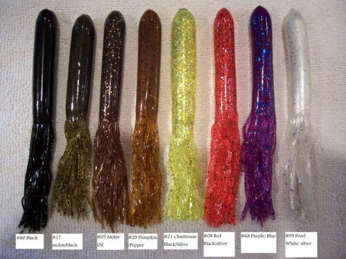 "Tawnter Muskie Musky Pike Bass Striper Inline Spinner Lure Bait 7.5/"" 1.5 oz."