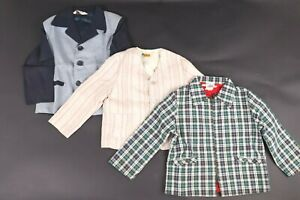 VTG-50s-Lot-7-Rockabilly-Gabardine-Suit-Shirt-Sweater-Ricky-Jacket-Youth-Kids