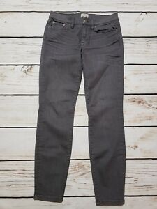 Jeans J Denim 28 crew Stretch dents Cure Skinny Ankle Trademark Taille Gris 08wF0xqS