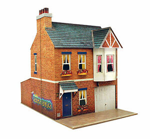 Details about O gauge (7mm) 1:43 scale Model Railway Building ROW HOUSE Kit  CityBuilder