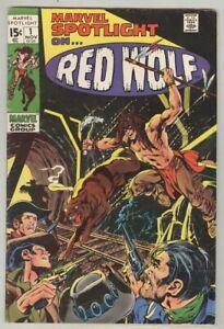 Marvel-Spotlight-1-November-1971-VG-Red-Wolf-Neal-Adams-cover