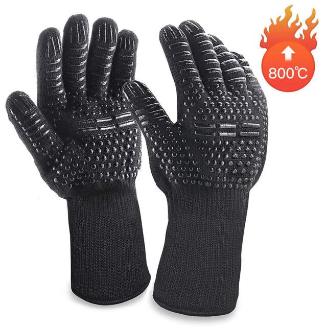 Oven Gloves 1 Pair Wotek Heat Resistant BBQ