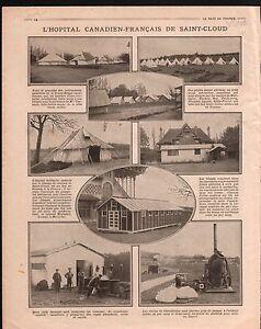 WWI-Nurse-Red-Cross-Infirmiere-Croix-Rouge-Hopital-Saint-Cloud-1918-ILLUSTRATION