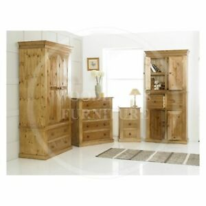 HANDMADE-SOLID-PINE-VICTORIAN-4-PIECE-BEDROOM-SET-MANY-COLOURS-ASSEMBLED