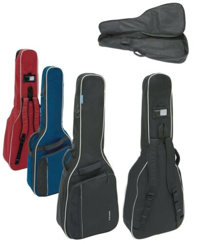 Gig Bag 1//4-1//8-Gitarre schwarz rot blau GEWA Economy 12 Gitarrentasche