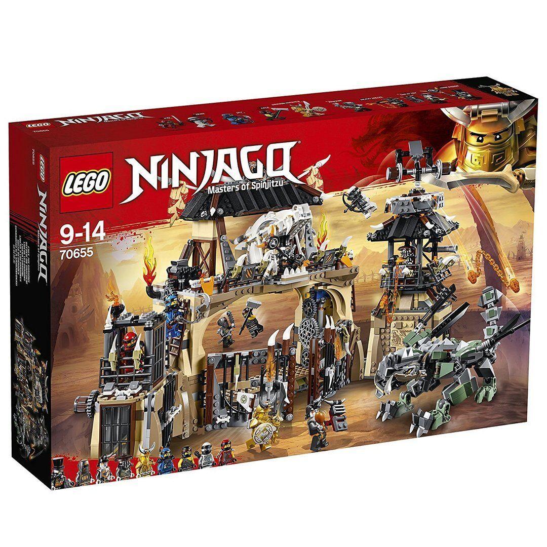 Lego 70655 - Ninjago - Pozo del Dragón - NUEVO
