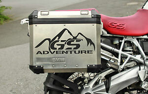 BMW MOTORCYCLE RGSGSA REFLECADVENTURE LRPANNIERSCASES - Bmw motorcycle stickers decals